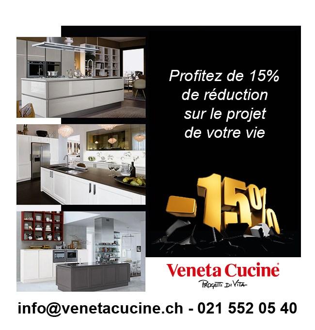 Promotions veneta cucine l 39 agencement et la r novation for Agencement cuisine yverdon